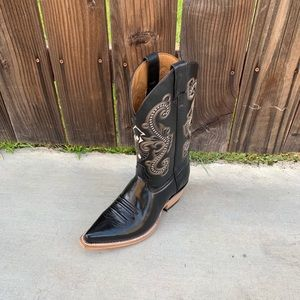 MEN'S COWBOY BOOTS Genuine Leather Tacon Cubano